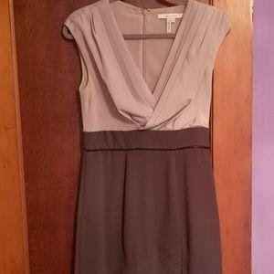BCBG two tone dress